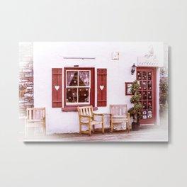 Lakeland cottage 1 Metal Print