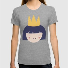 Smiling Princess With Crown T-shirt