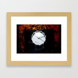 TimeComp Framed Art Print