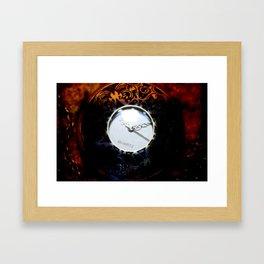 TimeComp Framed Art Print