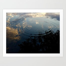 Ripple in Time Art Print