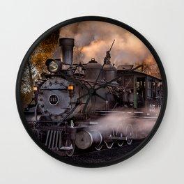 Steam Train, Cumbres & Toltec Railroad, New Mexico Wall Clock