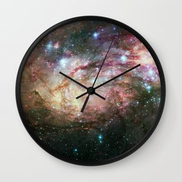 Stars and Galaxies Wall Clock