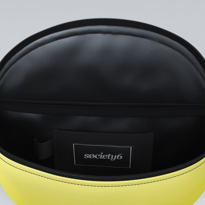 Simply sun yellow color gradient - Mix and Match with Simplicity of Life Fanny Pack