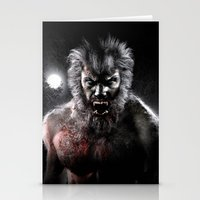 werewolf Stationery Cards featuring Werewolf by Joe Roberts