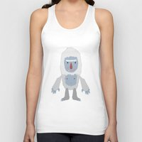 yeti Tank Tops featuring Yeti by Kidney Theft