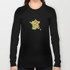 Abstract France Bright Earth Long Sleeve T-shirt
