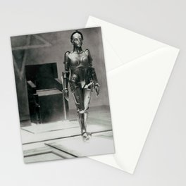 Metropolis poster print vintage photograph science fiction sci-fi cult classic film black and white movie still photograph Stationery Cards