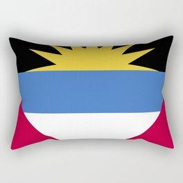 Antigua and Barbada Rectangular Pillow