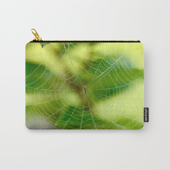 Beautiful Cobweb Carry-All Pouch