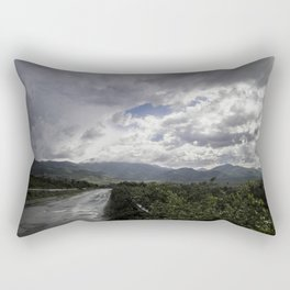 After the storm II - on the road Rectangular Pillow