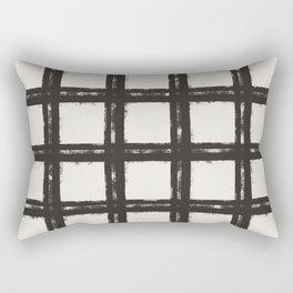 Big Bad Plaid Rectangular Pillow