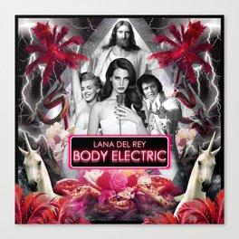 Body Electric II Canvas Print