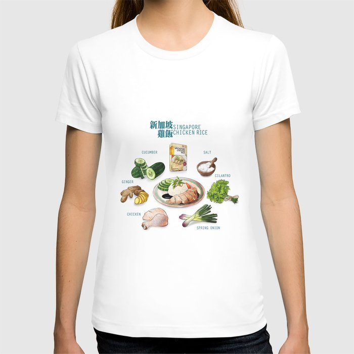 Singapore Chicken Rice T-shirt