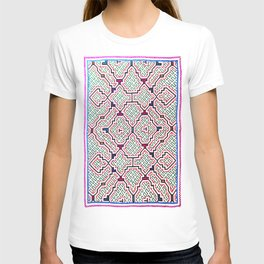 Song for Good Work - Traditional Shipibo Art - Indigenous Ayahuasca Patterns T-shirt