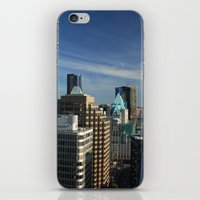 skyline iPhone & iPod Skins featuring Skyline by Chris Root