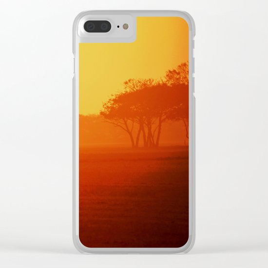 Morning activity #6 Clear iPhone Case