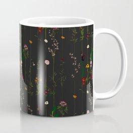 Floral Wallroll - Dark Coffee Mug