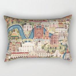 Vilnius, the capital city of Lithuania Rectangular Pillow