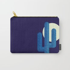 Desert Cactus by Night Carry-All Pouch