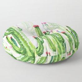 cactus four new Floor Pillow