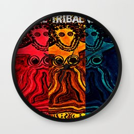 We Are Tribal Women ~ The Deep Soul Tribe Wall Clock