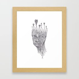 Love In Mind Framed Art Print
