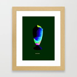 Halo-halo Framed Art Print