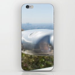 Coin operated telescope at the Griffith Observatory iPhone Skin