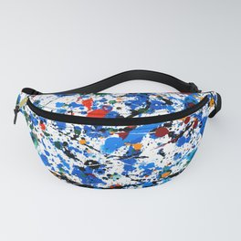 Frenzy in Blue Fanny Pack