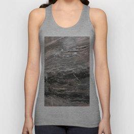 Smokey gray marble Unisex Tank Top