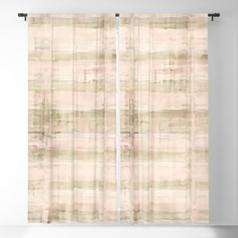 Light Watercolor Bamboo Blackout Curtain