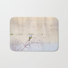 """Pretty Kingbird"" by Murray Bolesta Bath Mat"