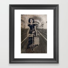 leaving it all behind Framed Art Print