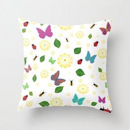 Spring has sprung! Throw Pillow