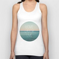 Love Laugh Live #2 Unisex Tank Top