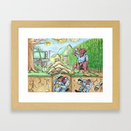 COMPOST Framed Art Print