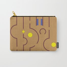 Aldo Van Eyck Meets Jamini Roy Carry-All Pouch
