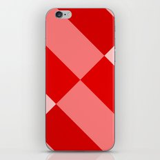 Angled Red Gradient iPhone & iPod Skin