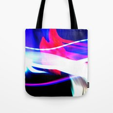 Photo Light Painting Tote Bag
