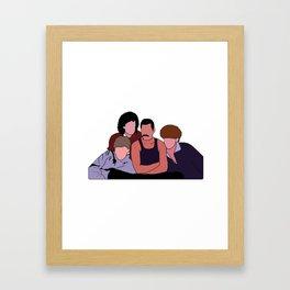 Queen Band Framed Art Print