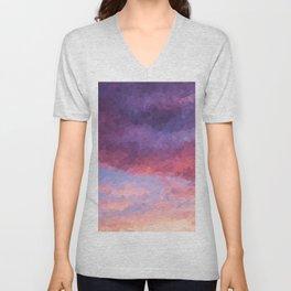 Purple Haze Unisex V-Neck
