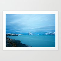 Norwegian coast 1 Art Print