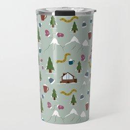 Winter Vacation Travel Mug