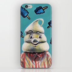 Pete and Pete Mr Tastee - Blue Tornado Bar iPhone & iPod Skin