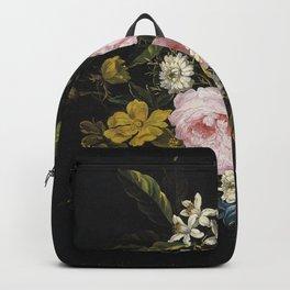 Jean Baptiste Monnoyer - A Bouquet Of Chamomile  Backpack