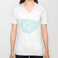good vibes V-neck T-shirts featuring good vibes by taylor st. claire