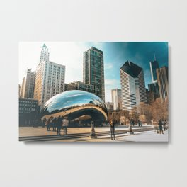 Architecture mirror art Metal Print