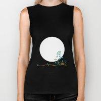 Moonlightflower Biker Tank
