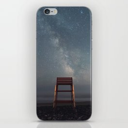 Chair with a View iPhone Skin